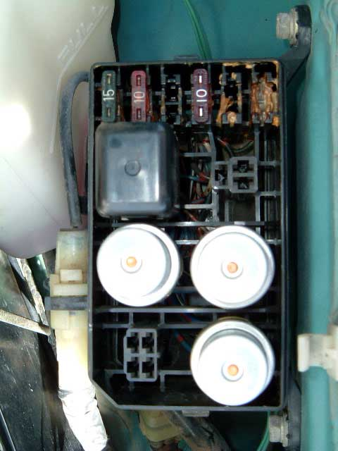 daihatsu applause fuse box